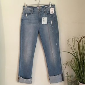 NWT FRAME DENIM Le High Straight High Waisted Jean